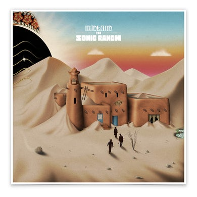 Midland The Sonic Ranch Lithograph