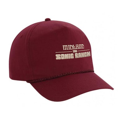 Midland The Sonic Ranch High Profile Cotton Snapback
