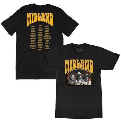 Midland 2018-19 Photo Tour T-Shirt
