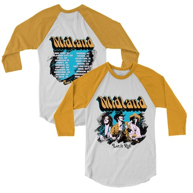 Midland Groovy Let It Roll Raglan
