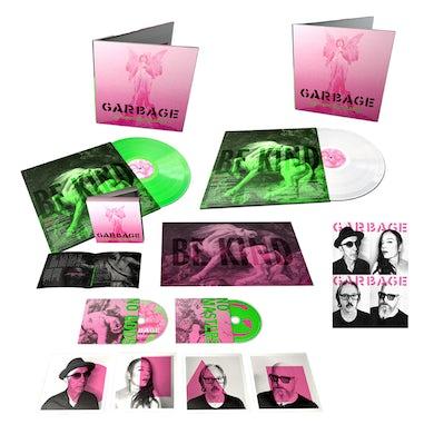Garbage NO GODS NO MASTERS DELUXE CD + NEON GREEN VINYL + WHITE VINYL (LTD EDITION)