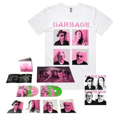 Garbage NO GODS NO MASTERS DELUXE CD + T-SHIRT