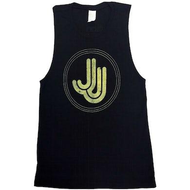 Jillian Jacqueline JJ Logo Ladies Muscle Tank