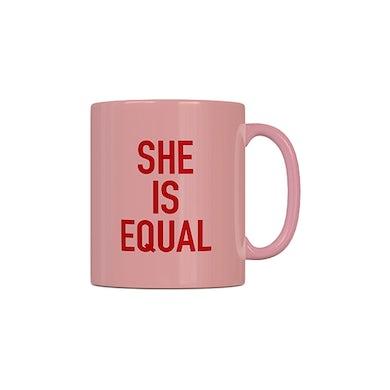 Global Citizen She Is Equal Mug