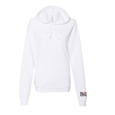 Global Citizen Be The Generation - White Hoodie