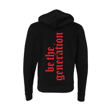 Global Citizen Be The Generation - Black Hoodie
