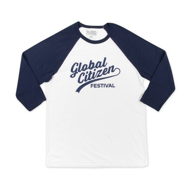Global Citizen Festival Baseball Tee