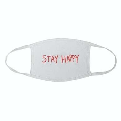 Aura Stay Happy White Mask
