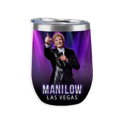 MANILOW Las Vegas Wine Tumbler