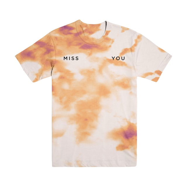 Katy Perry Miss You Embroidered Tie Dye T-Shirt