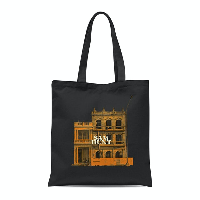 Sam Hunt Downtown's Dead Black Tote Bag
