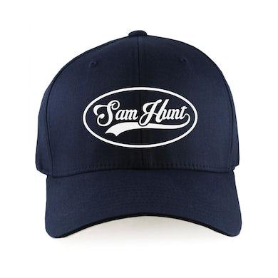 Sam Hunt SH Script Logo Dad Hat