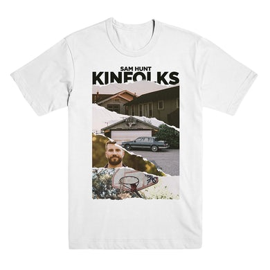 Sam Hunt White Kinfolks Photo T-Shirt