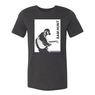 Sam Hunt Guitar Block Photo T-Shirt