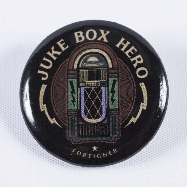Foreigner Juke Box Hero Pin