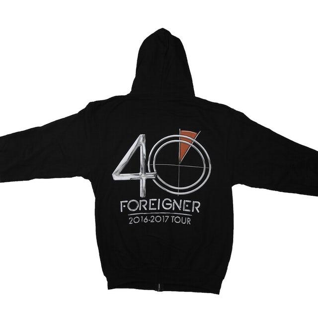 Foreigner 40 Logo Hoodie