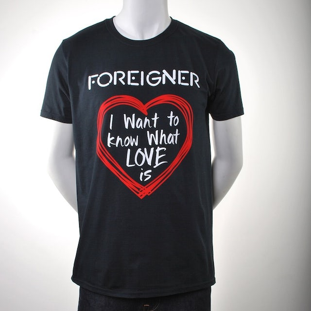 Foreigner I Want To Know Grammy T-Shirt