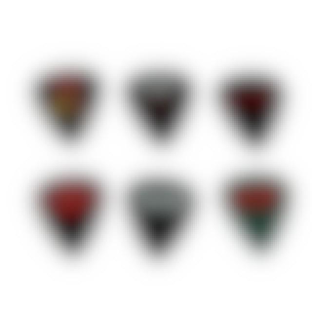 AC/DC Rockin' Logos 6 Pick Pack