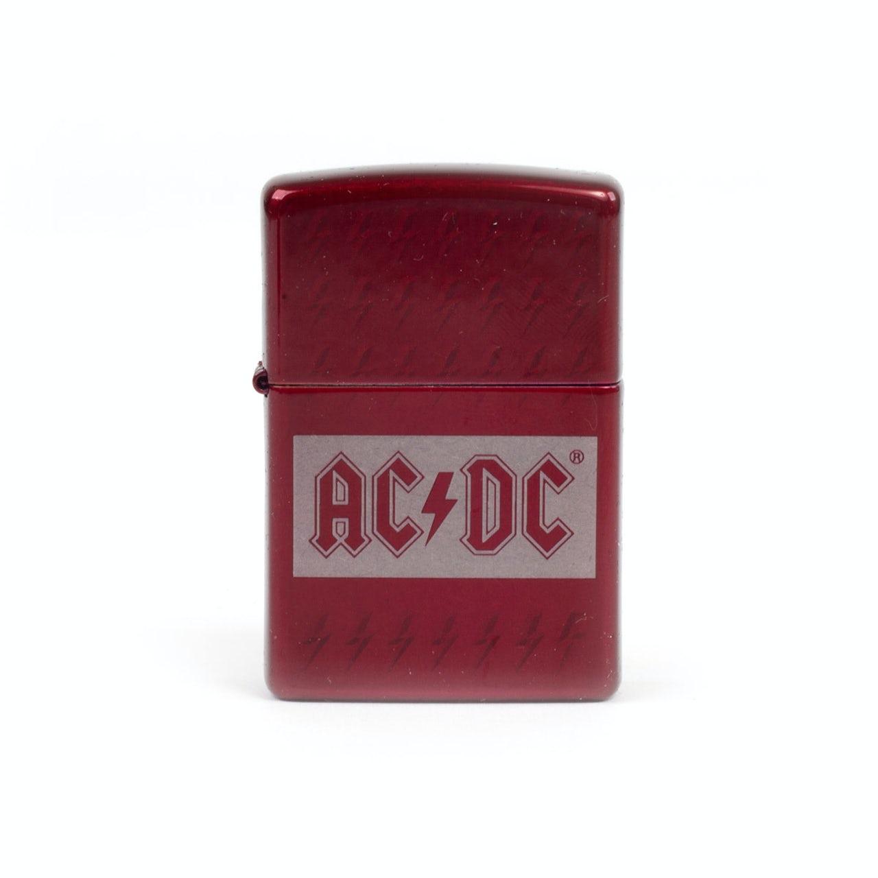 ca5c9ad98368 AC/DC Red Lightning Zippo Lighter