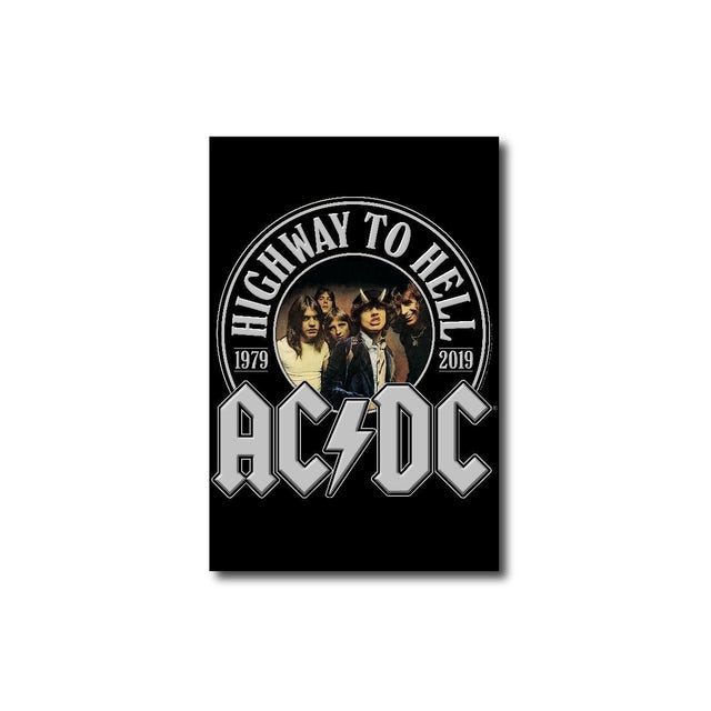 AC/DC Highway To Hell 40th Anniversary Rectangular Magnet
