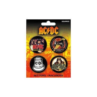 AC/DC Button 4 Pack