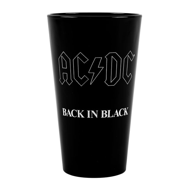 AC/DC Back in Black 40th Anniversary Pint Glass