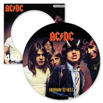 AC/DC Highway to Hell 450 Piece Picture Disc Puzzle