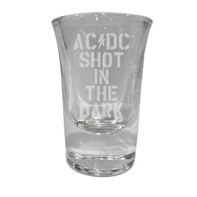 AC/DC Shot In The Dark Laser Engraved Shot Glass