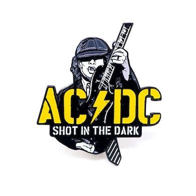 AC/DC Glow In The Dark Shot In The Dark Pin