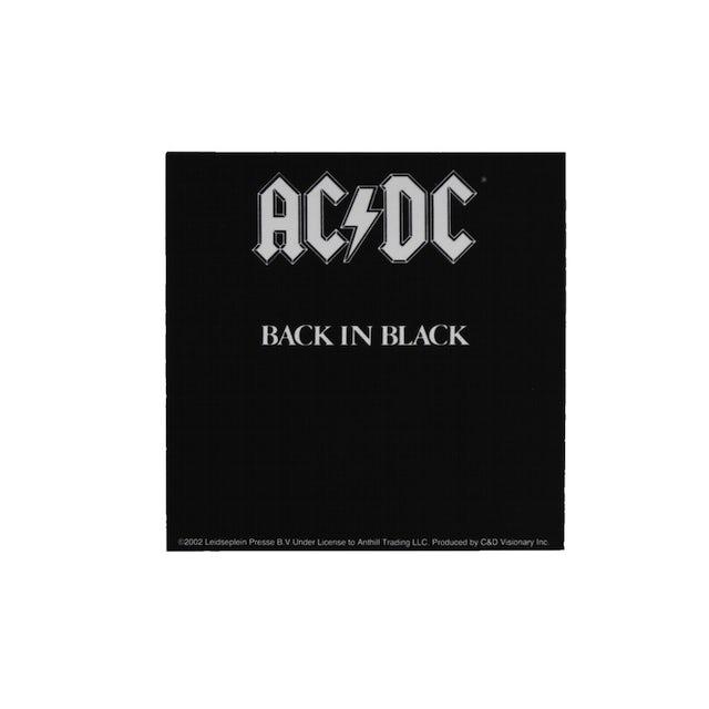AC/DC Back In Black Sticker