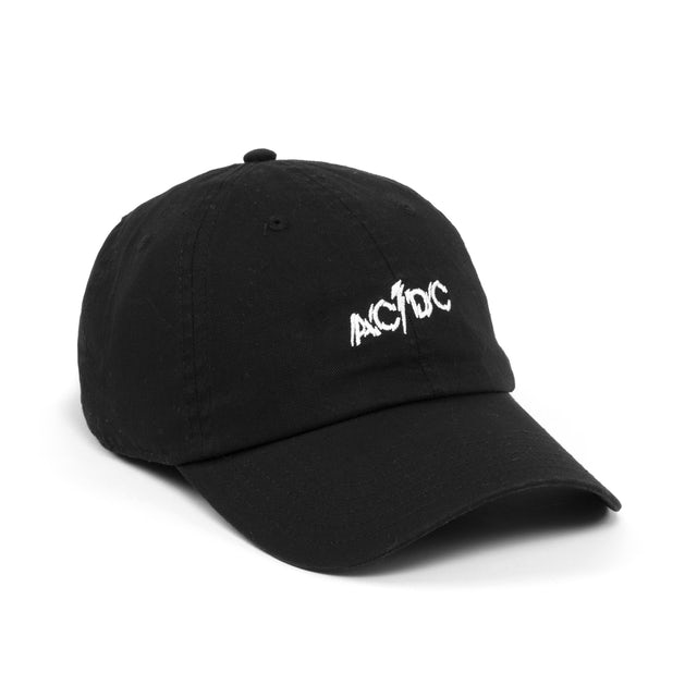 AC/DC Logo Black Cap