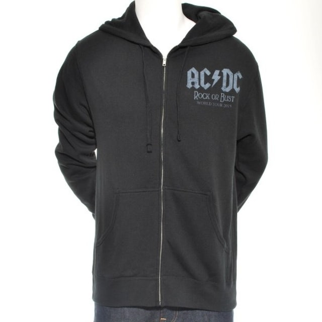 AC/DC Rock Or Bust Cannon World Tour Hoodie