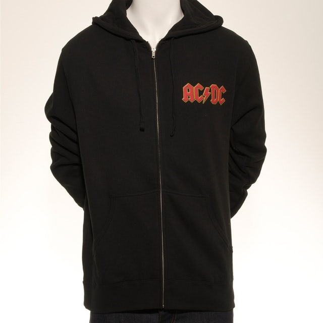 AC/DC Rock Or Bust World Tour Zip Hoodie