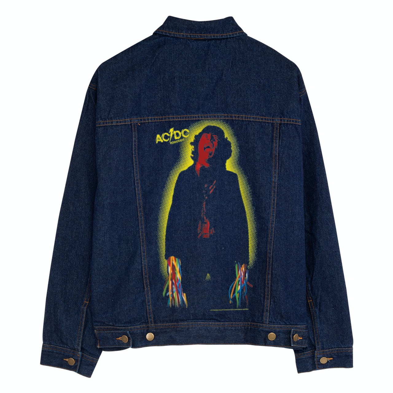 Ac Dc Powerage Personalized Jean Jacket