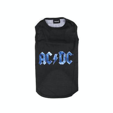 AC/DC Dog Ice Blue Logo Shirt