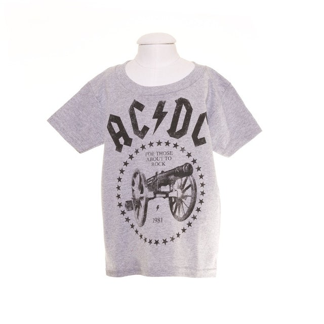 AC/DC Toddlers For Those About To Rock T-Shirt