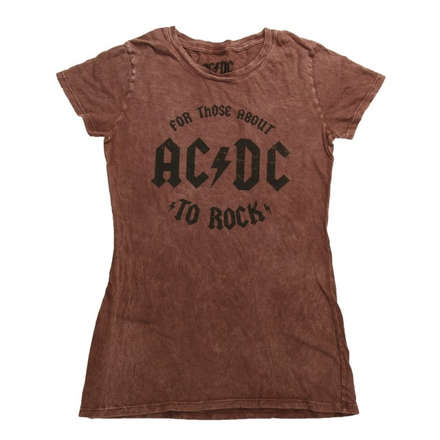 AC/DC For Those Women About To Rock T-Shirt