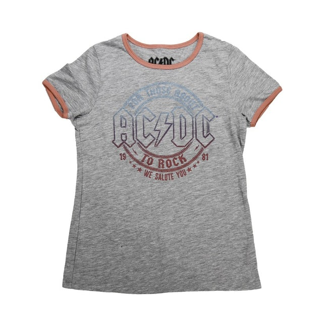 AC/DC Kids Glitter Rock T-Shirt