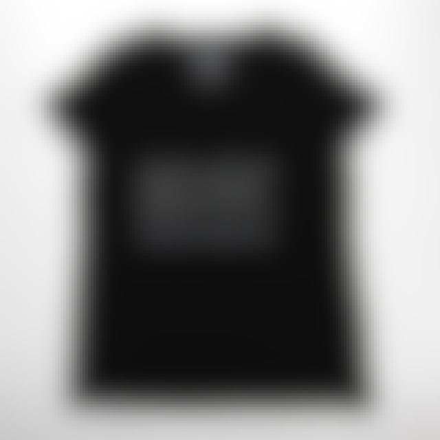 AC/DC Back In Black Outline Logo V-Neck T-Shirt