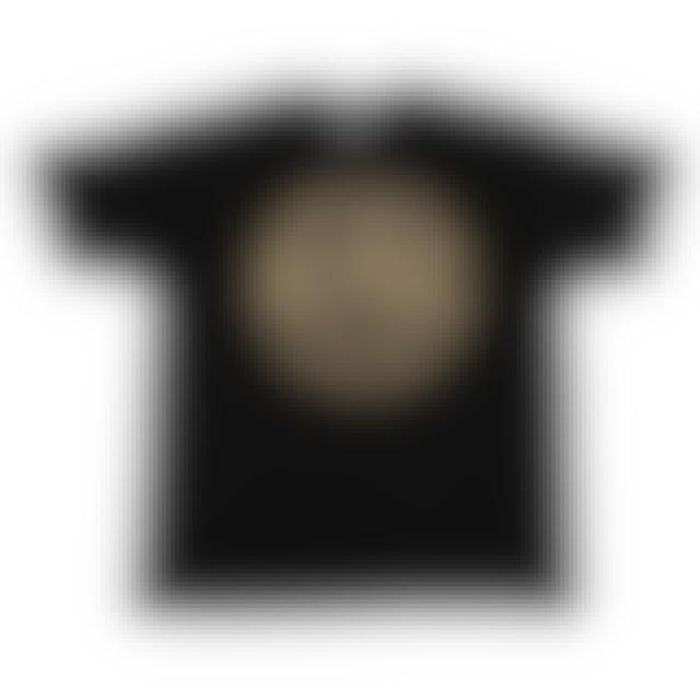 AC/DC High Voltage Gold Logo 1976 Black Tshirt