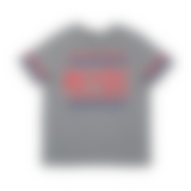 AC/DC Red, White & Blue Star Logo Grey Kids T-shirt
