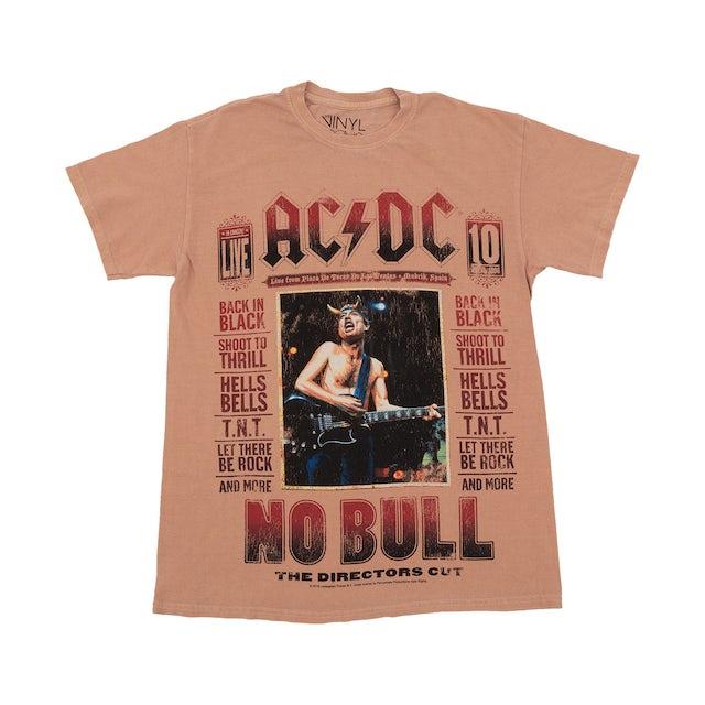 AC/DC Live from Plaza De Toros No Bull Faded T-shirt