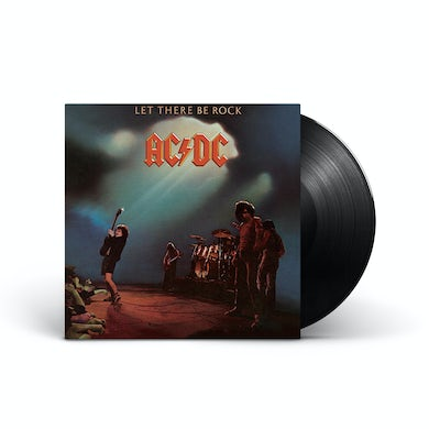 Ac Dc Let There Be Rock Vinyl Record