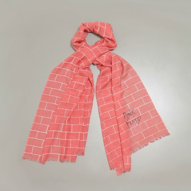 Pink Floyd The Wall Pink Scarf