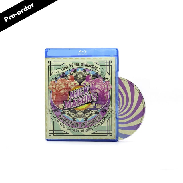 Pink Floyd Nick Mason's Saucerful of Secrets Live At The Roundhouse Blu-ray