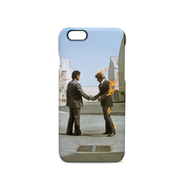 Pink Floyd Wish You Were Here Cover Art Phone Case