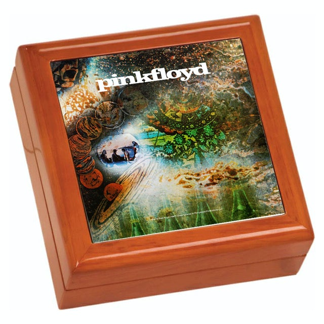 Pink Floyd A Saucerful Of Secrets Wooden Keepsake Box