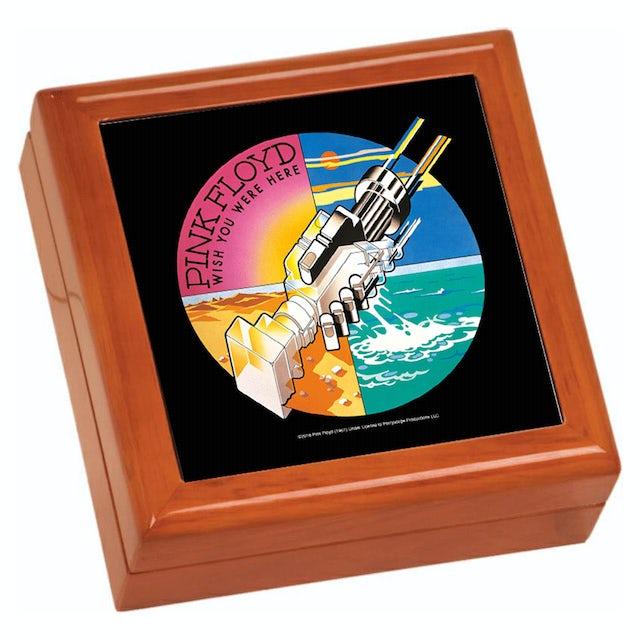 Pink Floyd WYWH Robotic Handshake Wooden Keepsake Box