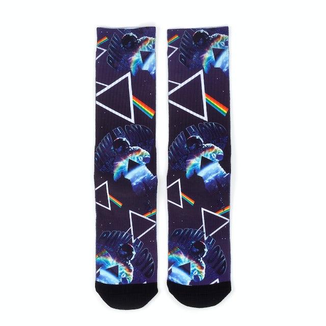 Pink Floyd The Dark Side of the Moon Prism Sock Set