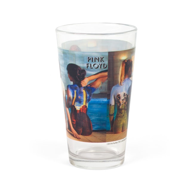 Pink Floyd Back Catalog Pint Glass